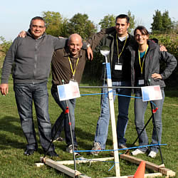 Jeu de construction team building!